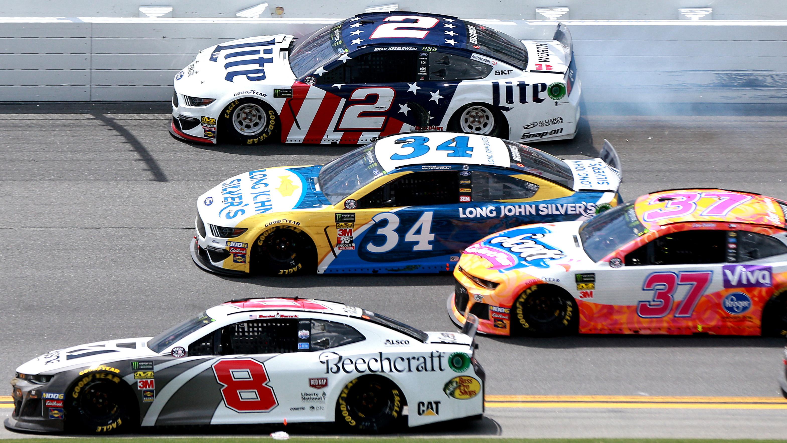 NASCAR: Brad Keselowski done at Daytona after wreck on lap 81