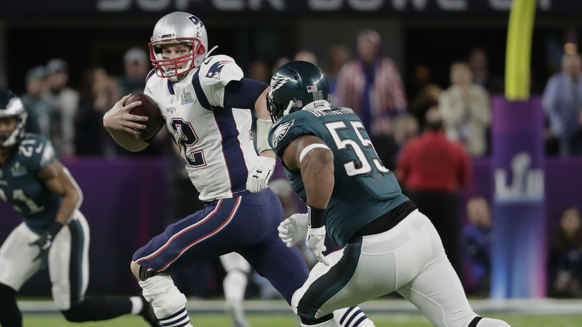 Super Bowl Philadelphia Eagles Defense Made Tom Brady Uncomfortable