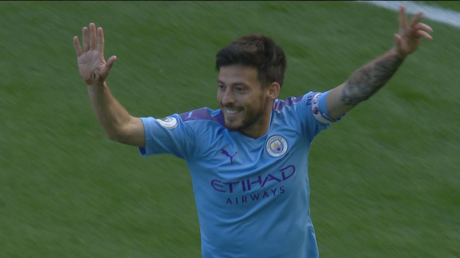 David Silva gets Manchester City off to flying start v. Watford