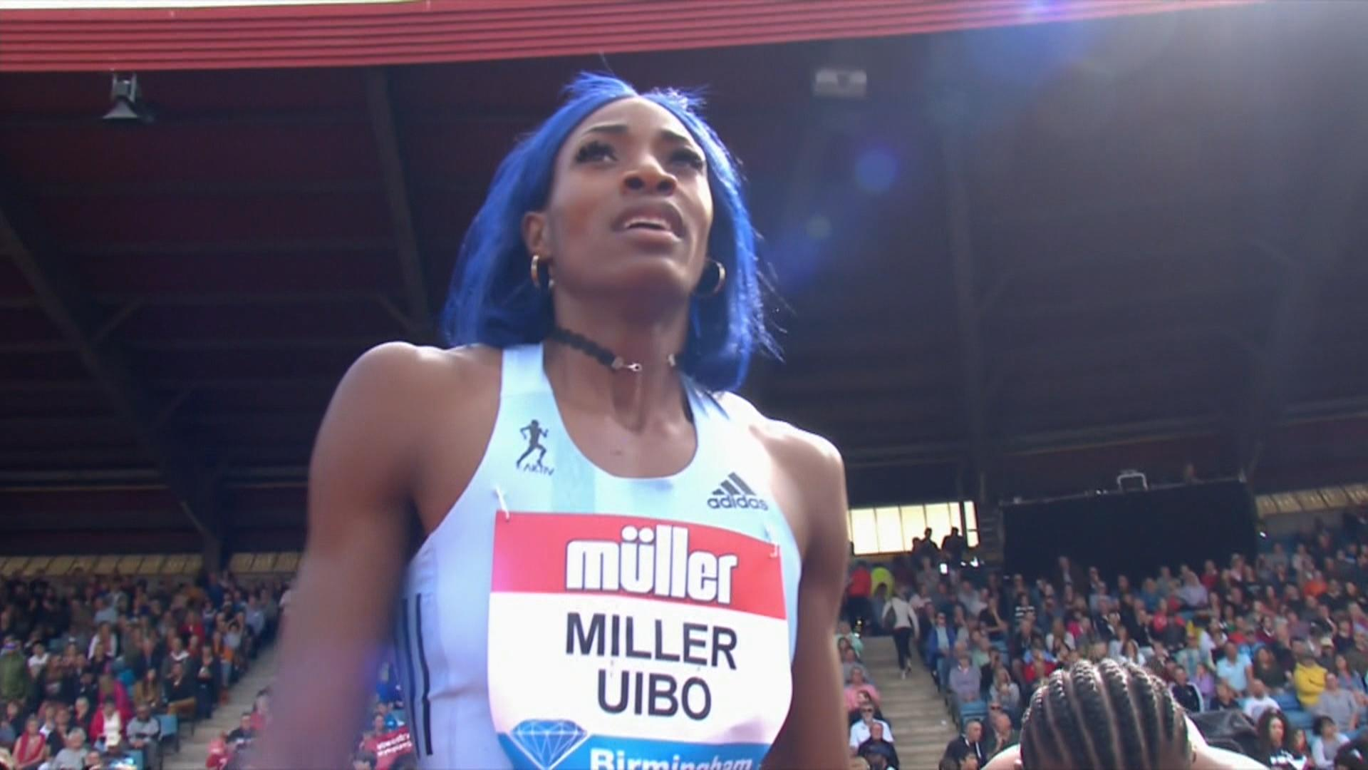 Shaunae Miller-Uibo cruises to 200m victory at Diamond League