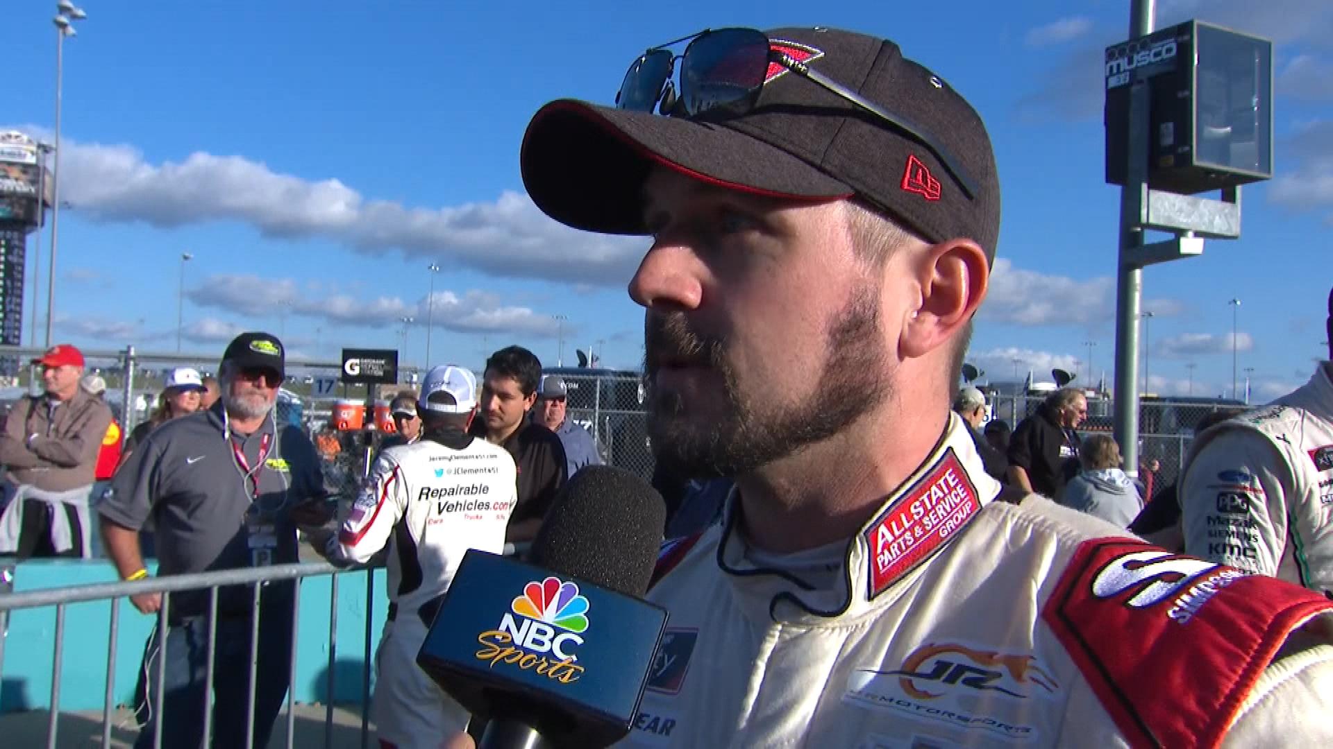 Michael Annett on tire issues in Kansas NASCAR Xfinity race