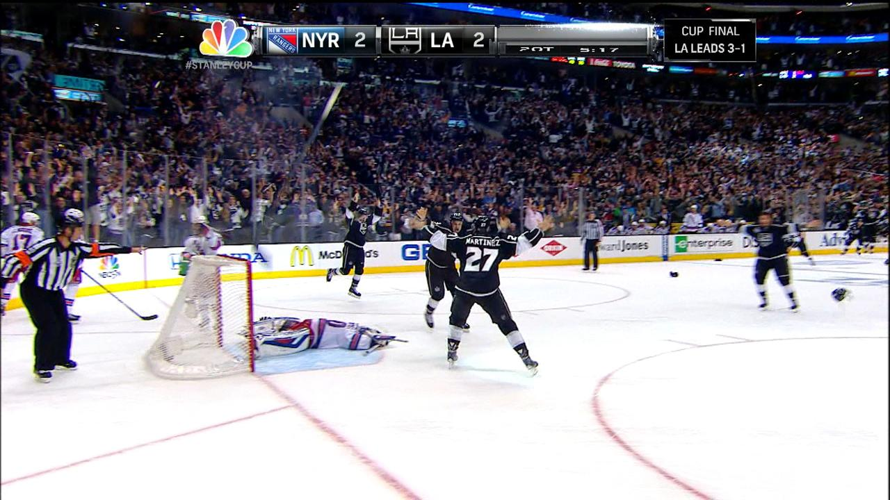 Highlights: Kings win Stanley Cup Final in 2OT | NBC Sports