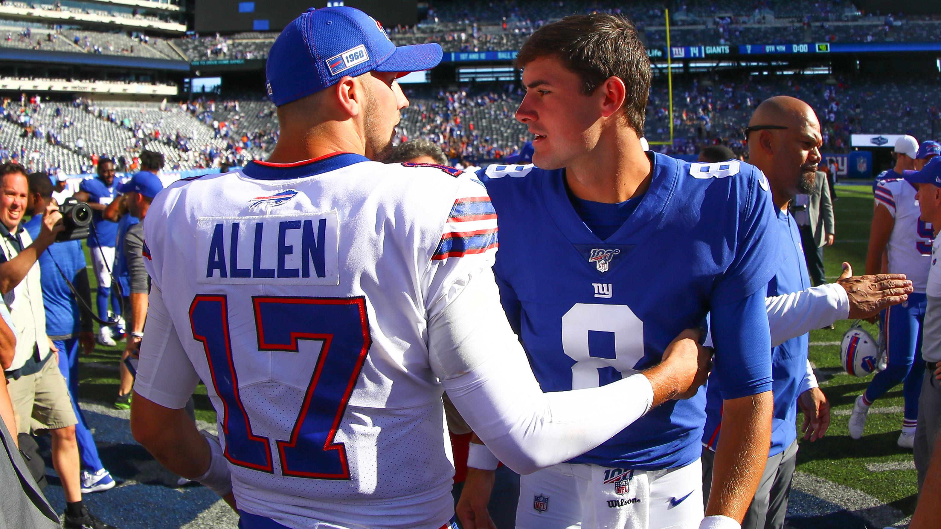 Josh Allen makes sure everyone remembers Bills are in New York