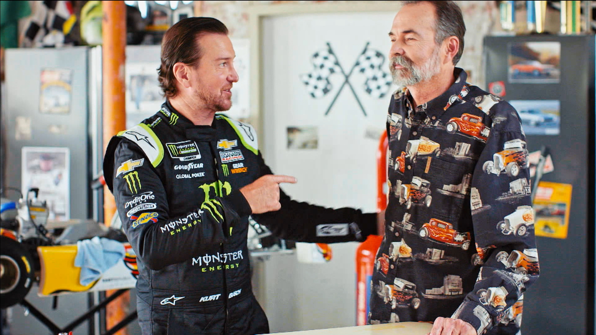 NASCAR Behind the Driver: Kurt Busch learns preparation from Tom Busch
