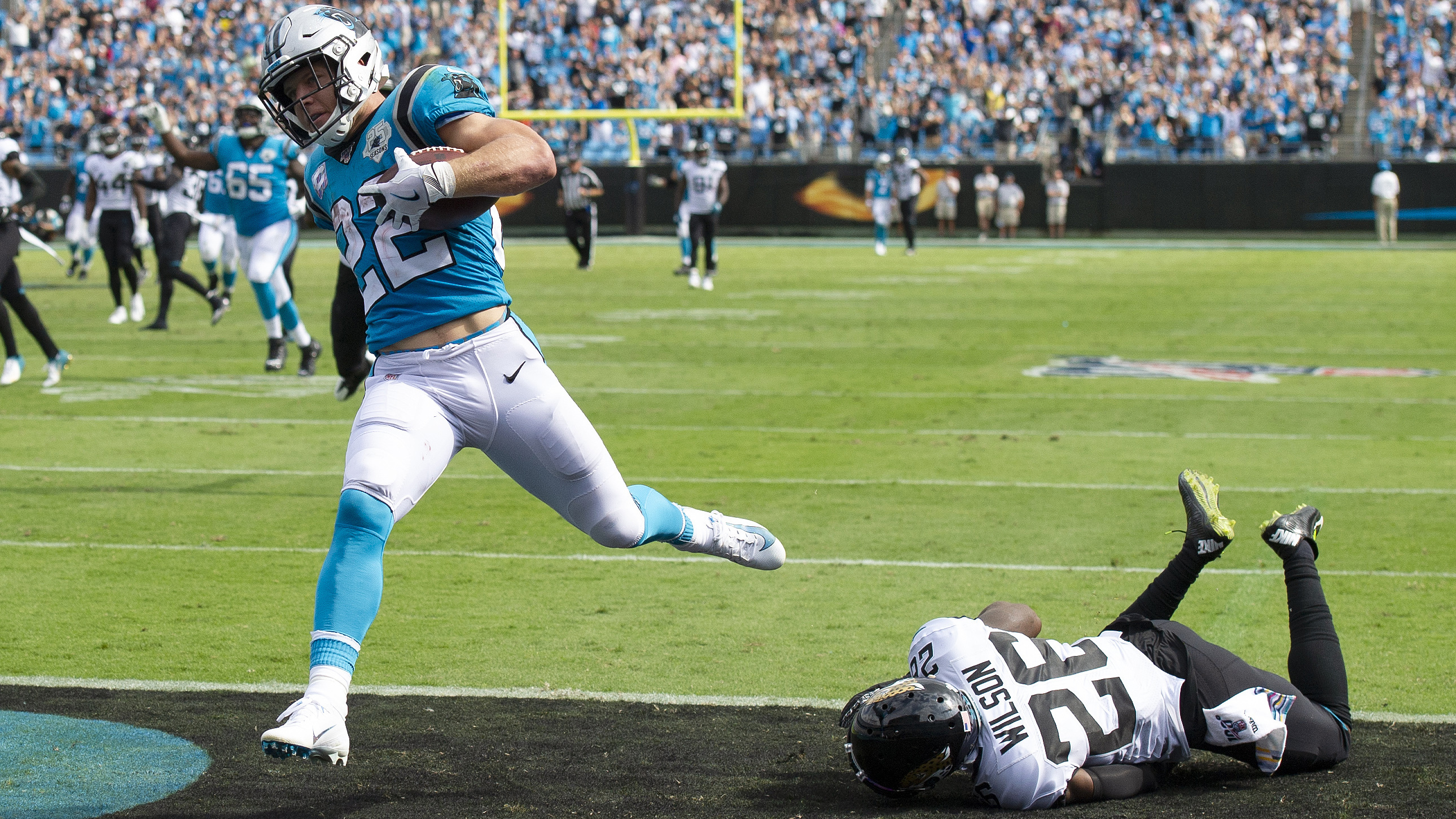 Is Panthers' Christian McCaffrey a serious MVP candidate?