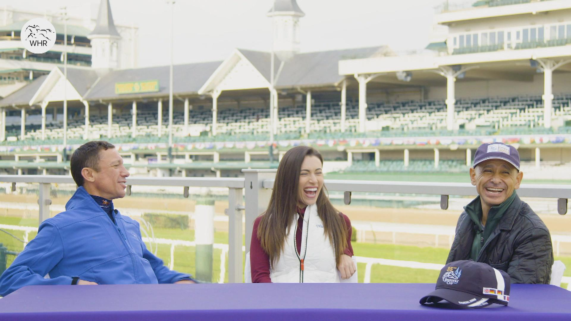 Inside Mike Smith, Frankie Dettori's friendship at Breeders' Cup