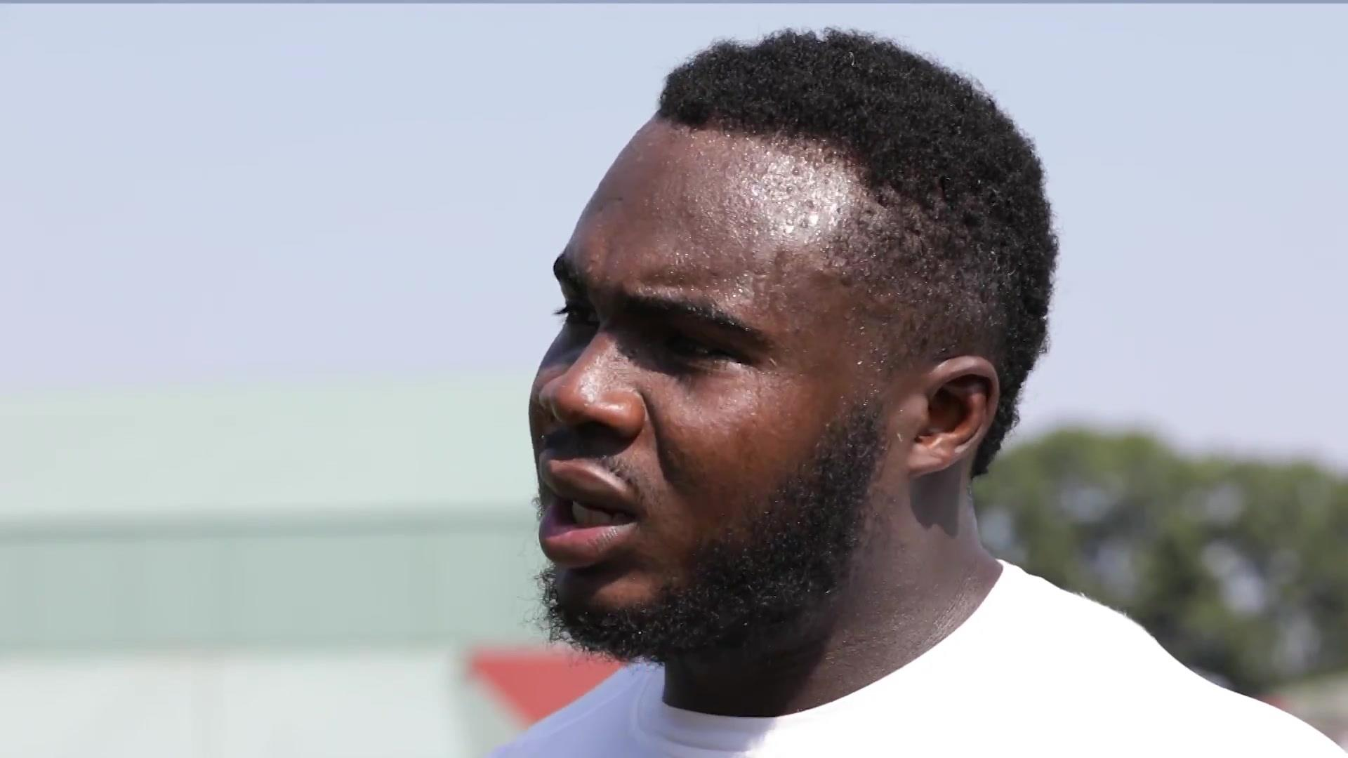Falcons' Grady Jarrett on his new deal, what drives him, lessons from