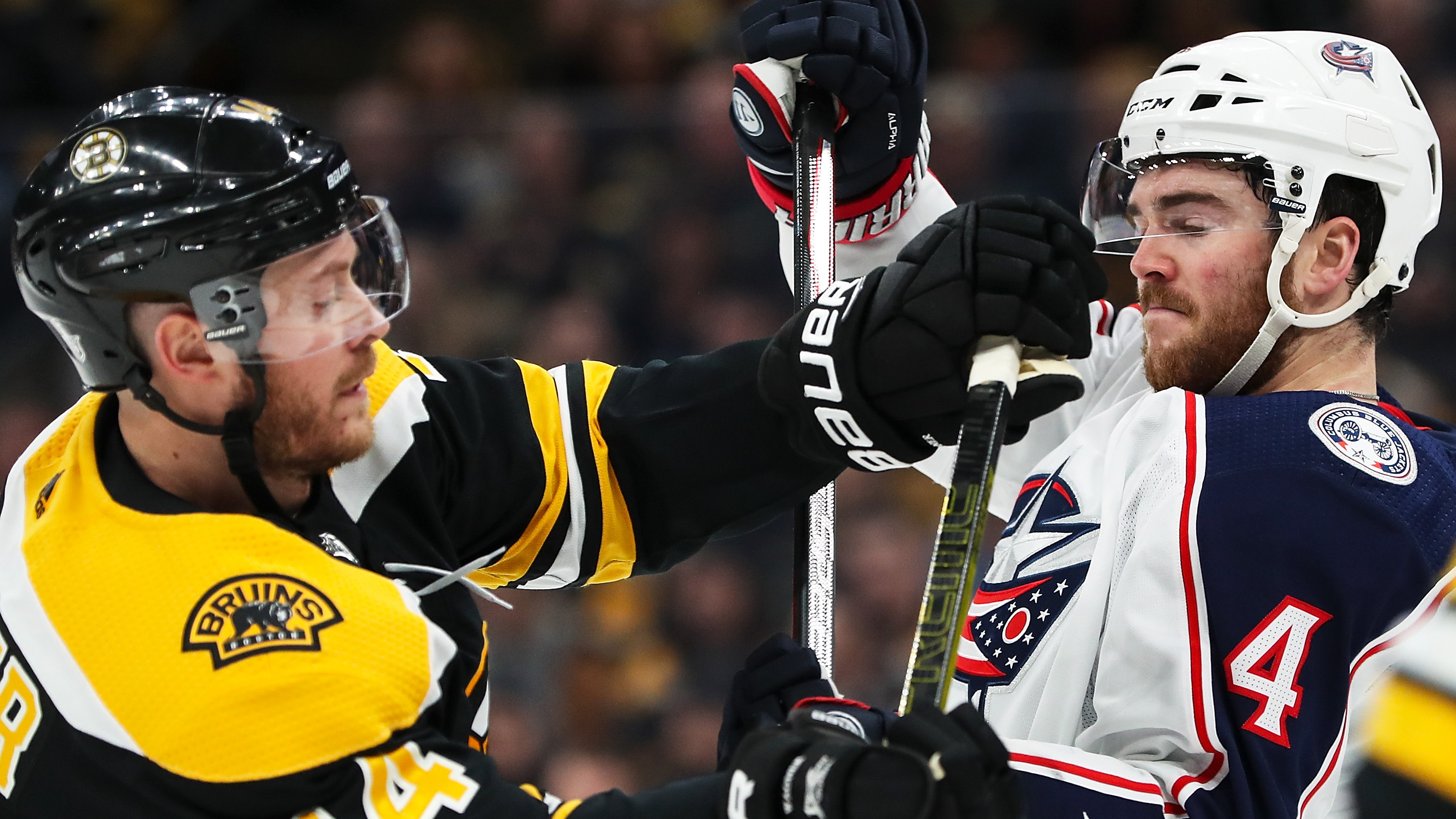 Blue Jackets show physicality in Game 1 loss vs. Bruins