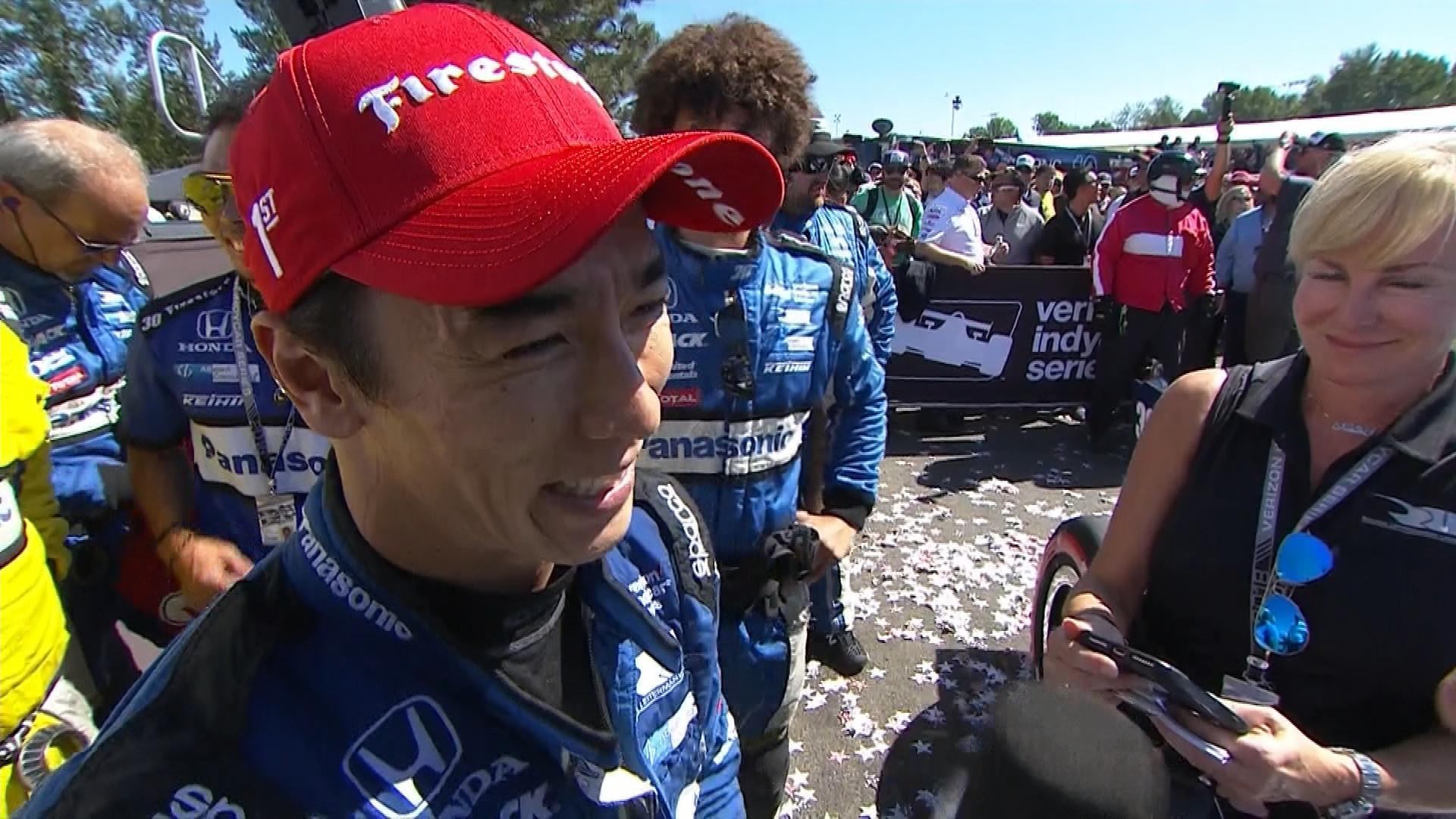 IndyCar: Takuma Sato calls own strategy in Grand Prix of Portland win