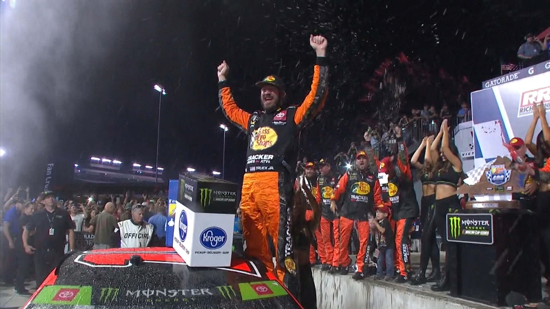 Martin Truex Jr, Cole Pearn react to second straight NASCAR Cup