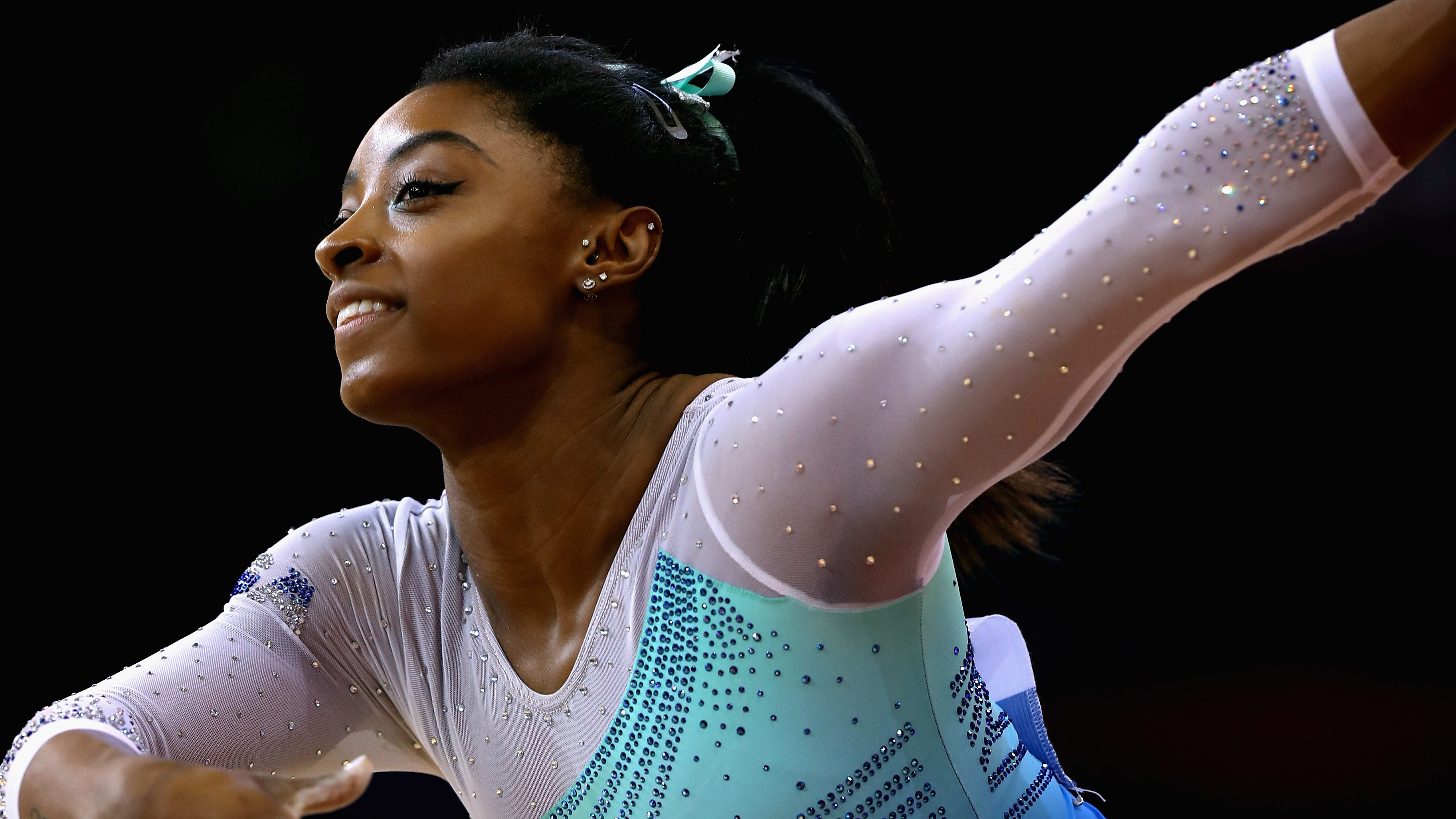 Highlights: Simone Biles all-around routine at DTB Pokal World Cup
