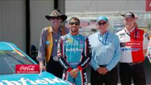 Top Coke Moments: Bubba Wallace turns heads in Cup Series
