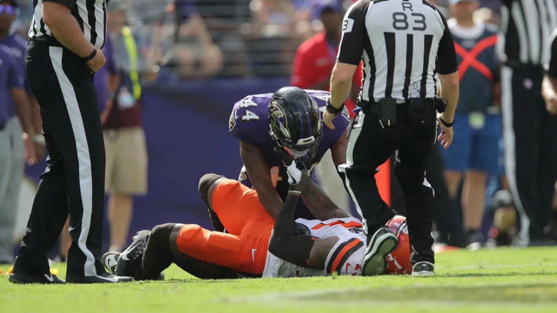 Freddie Kitchens still upset with Ravens' Marlon Humphrey for choking