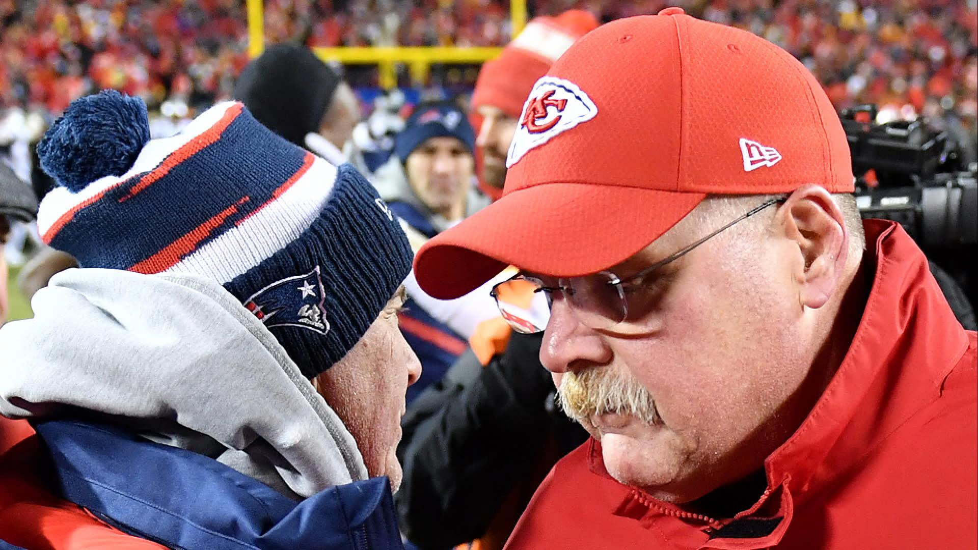 Andy Reid, Kansas City Chiefs rattled by officiating in AFC title game