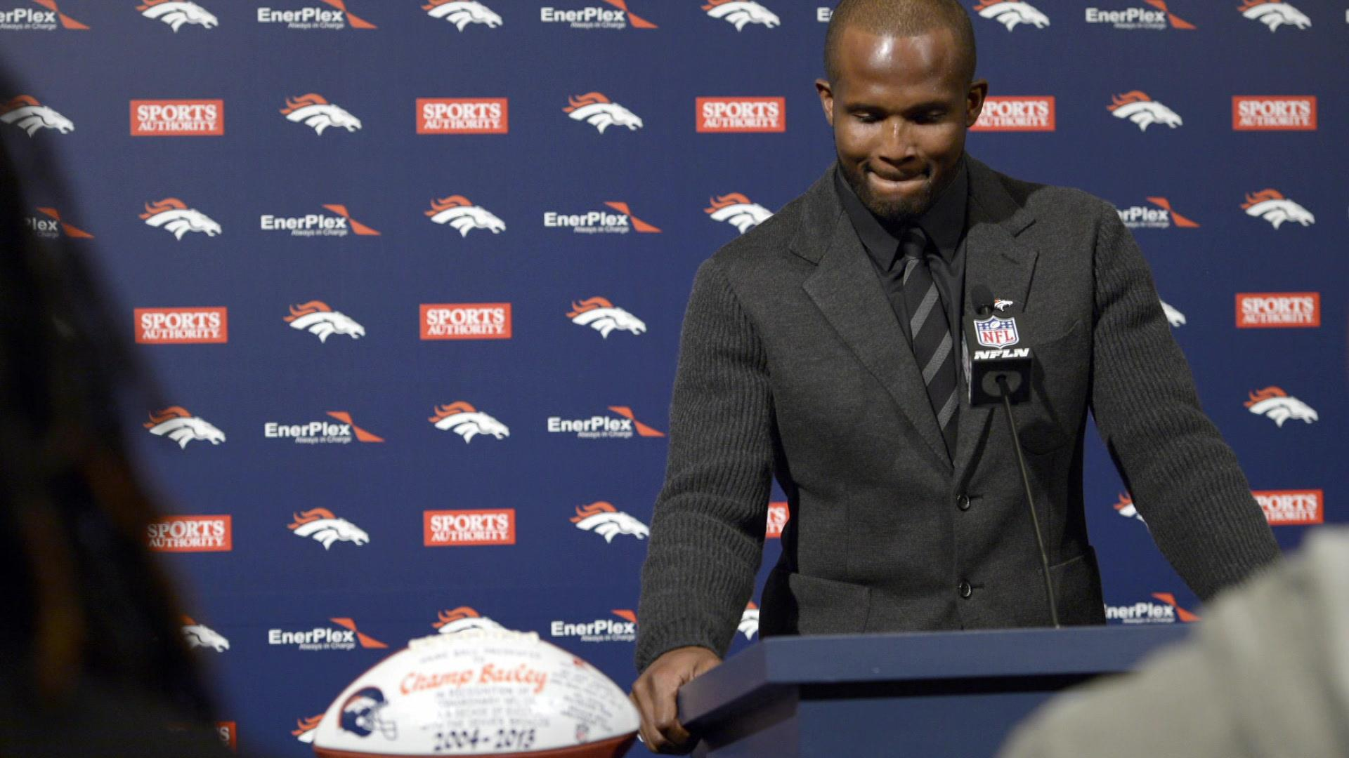 Champ Bailey says Hall of Fame goals began during his youth football