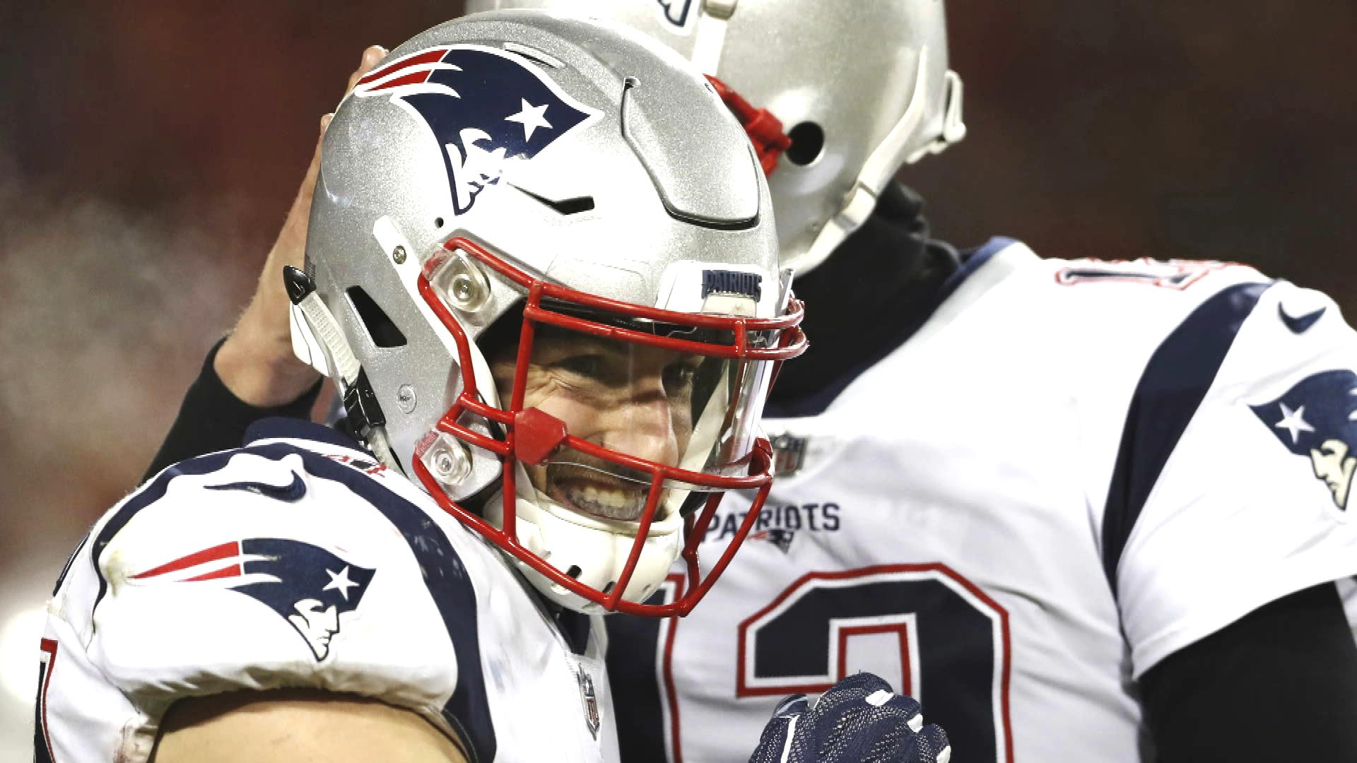 Patriots' Trent Brown, Rob Gronkowski are unsung heroes from title games