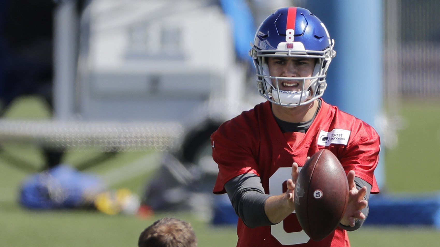 Giants' Pat Shurmur on Eli Manning, Daniel Jones QB competition