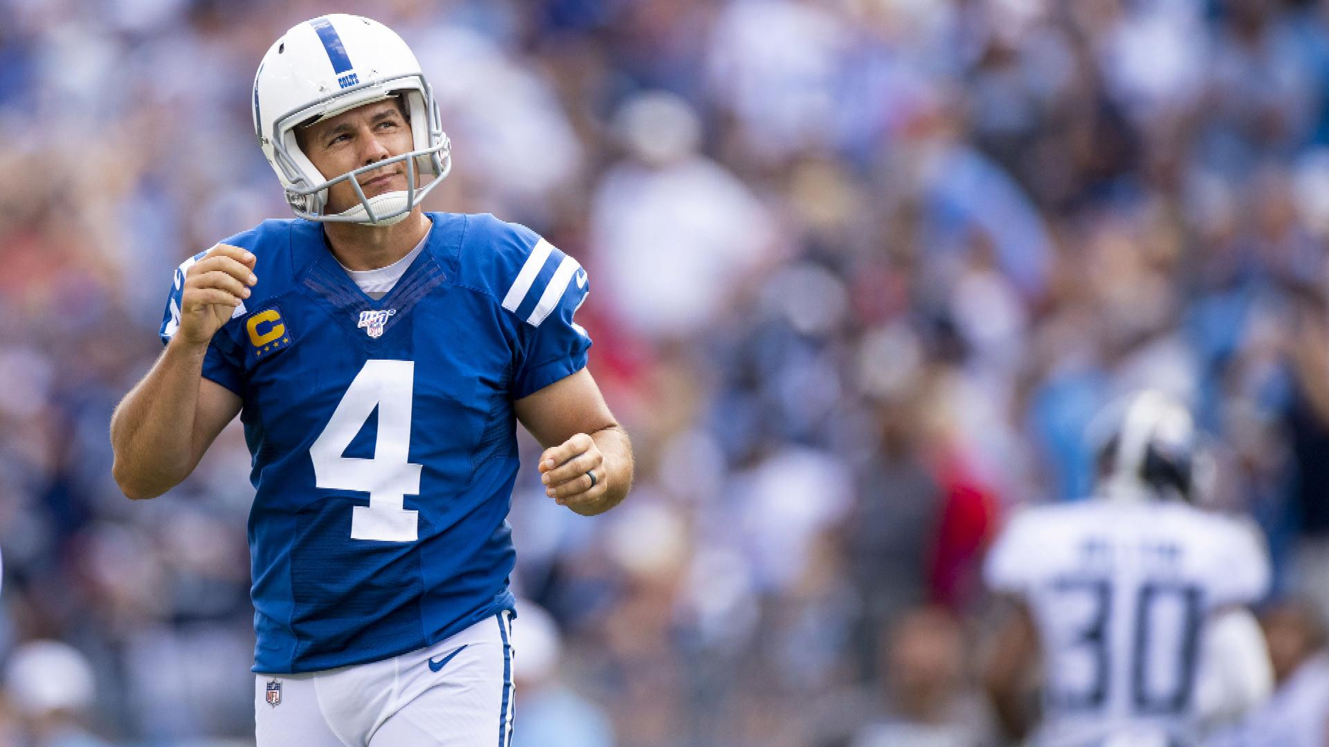 Adam Vinatieri struggles for Colts vs. Titans as retirement talk