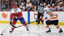09a59e6f0 Tom Wilson s wicked deflection puts Capitals up early on Flyers ...