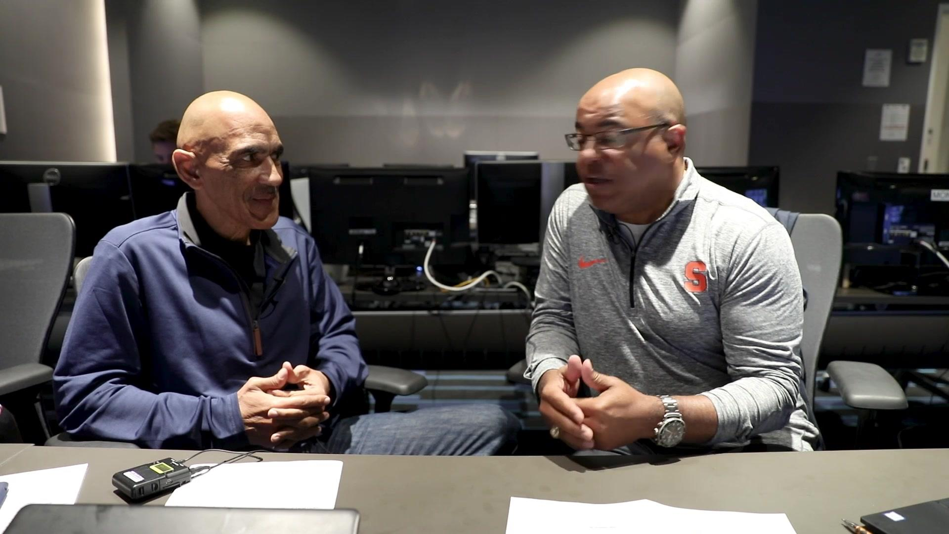 Mike Tirico, Tony Dungy talk Los Angeles Rams vs. Cleveland Browns