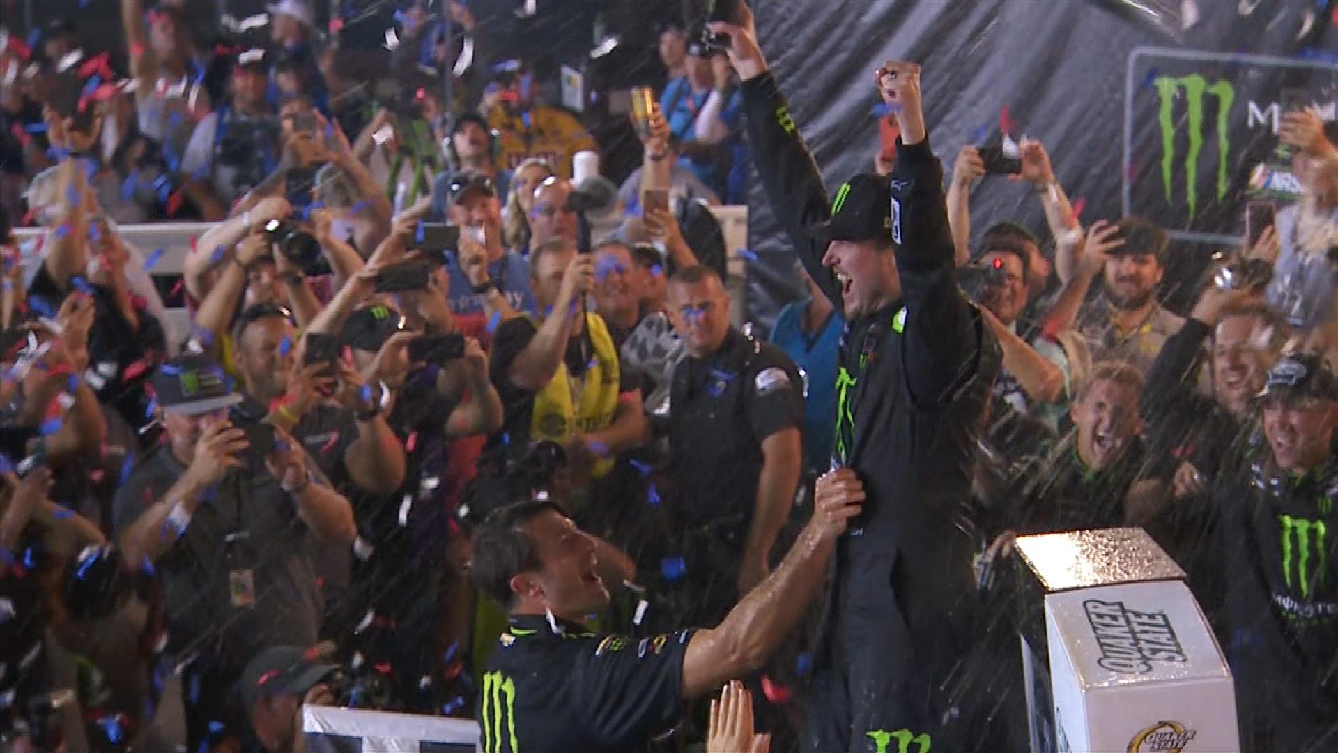 Kurt Busch describes first NASCAR Cup Series win with Chip Ganassi