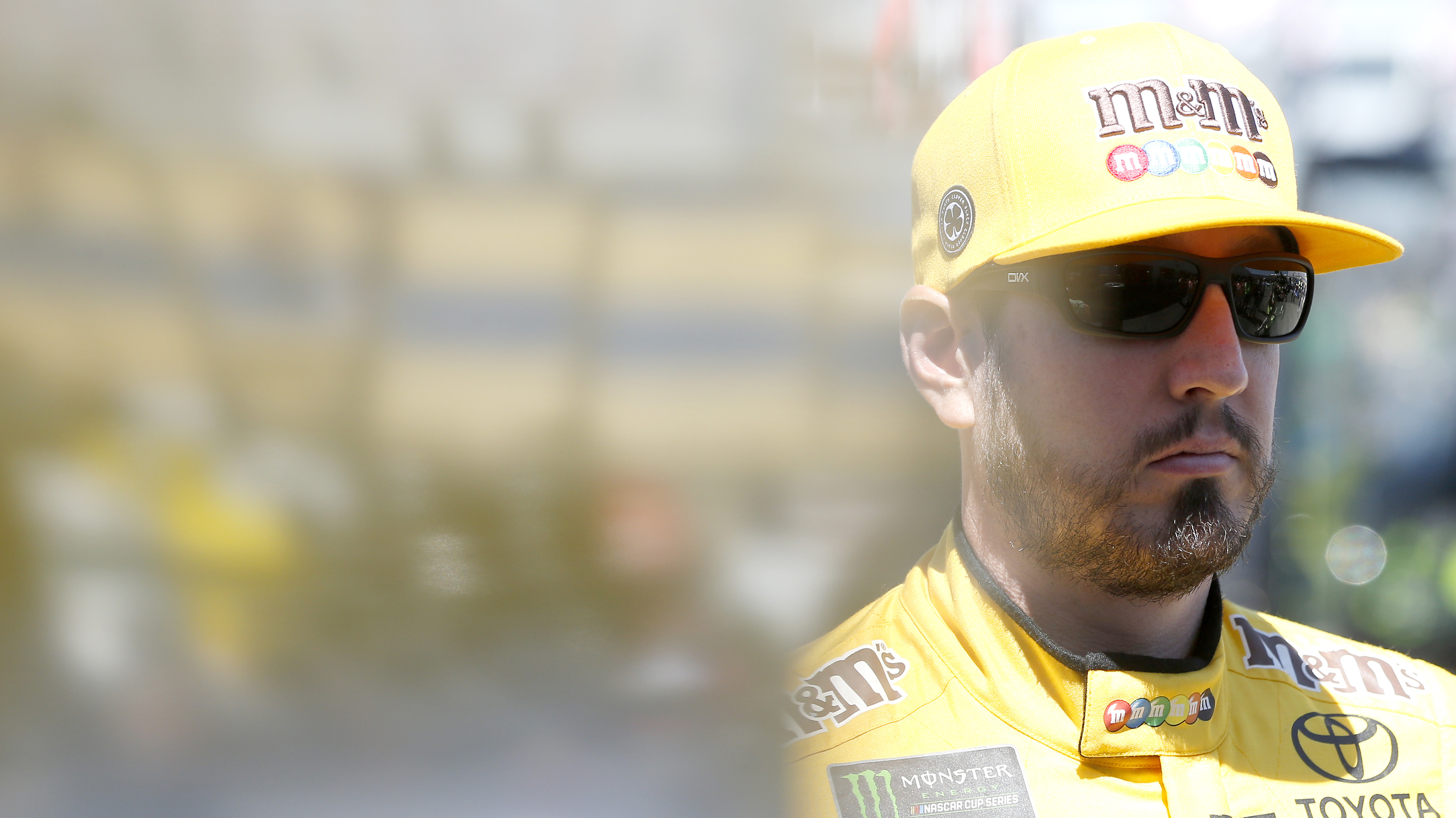 Kyle Busch on overtime finish with brother Kurt: 'Glad it was a