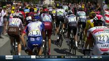 2019 Tour de France: Alessandro Di Marchi stretchered out of Stage 9