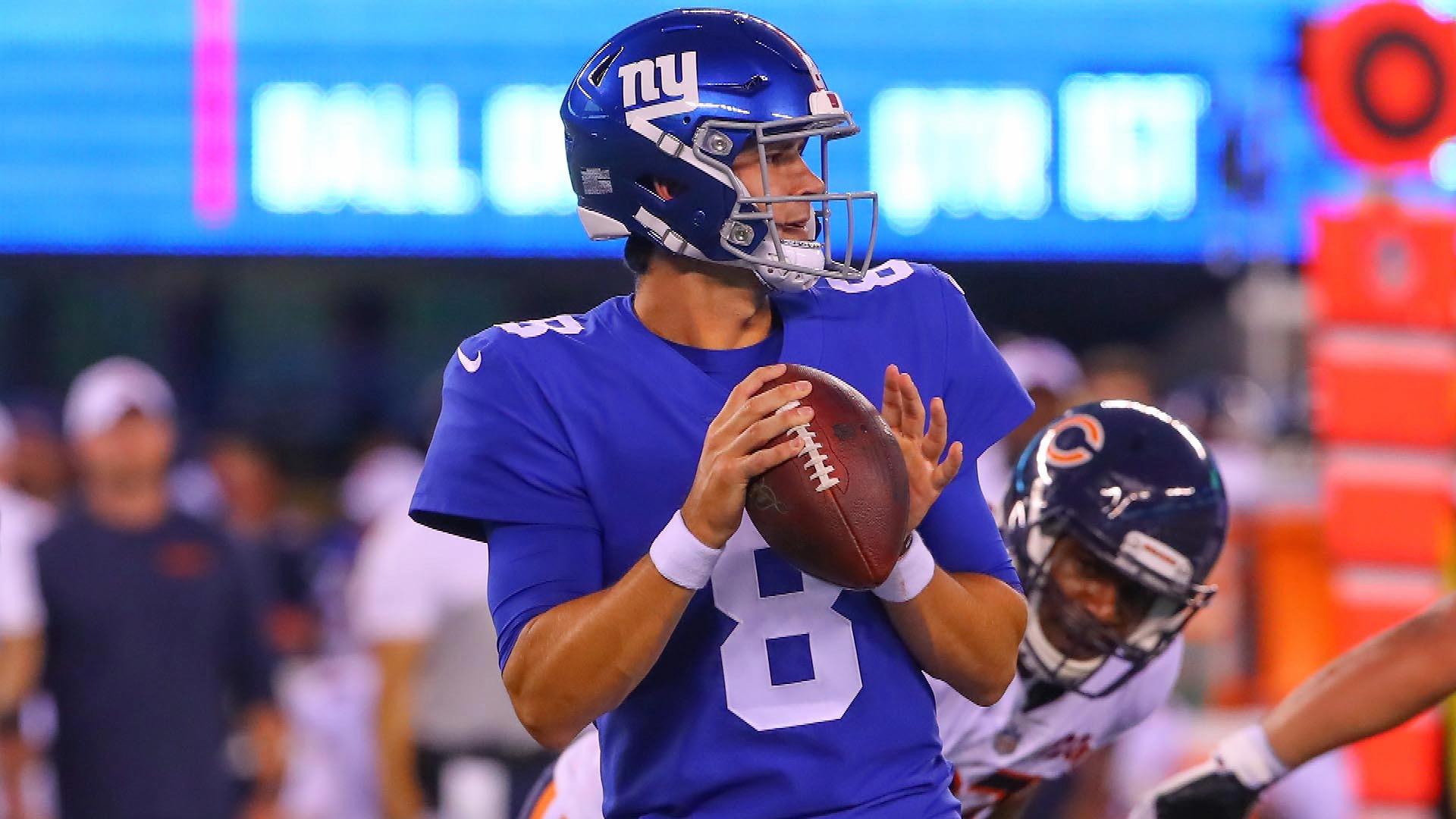 New York Giants' Daniel Jones continues to impress in 2019 preseason