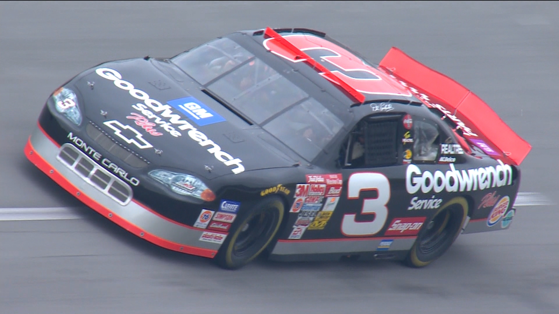 NASCAR: Richard Childress drives Dale Earnhardt's car at Talladega