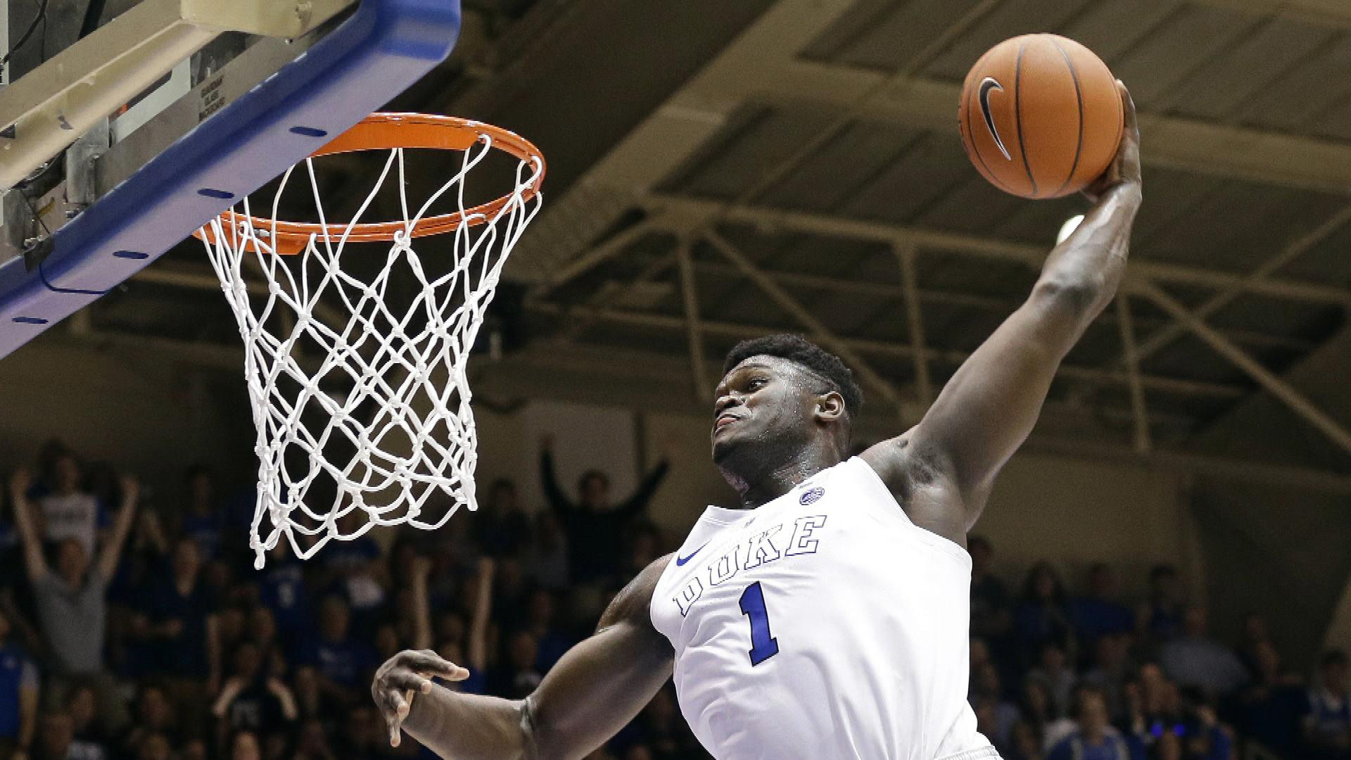 Georgetown's Patrick Ewing says Duke's Zion Williamson should play