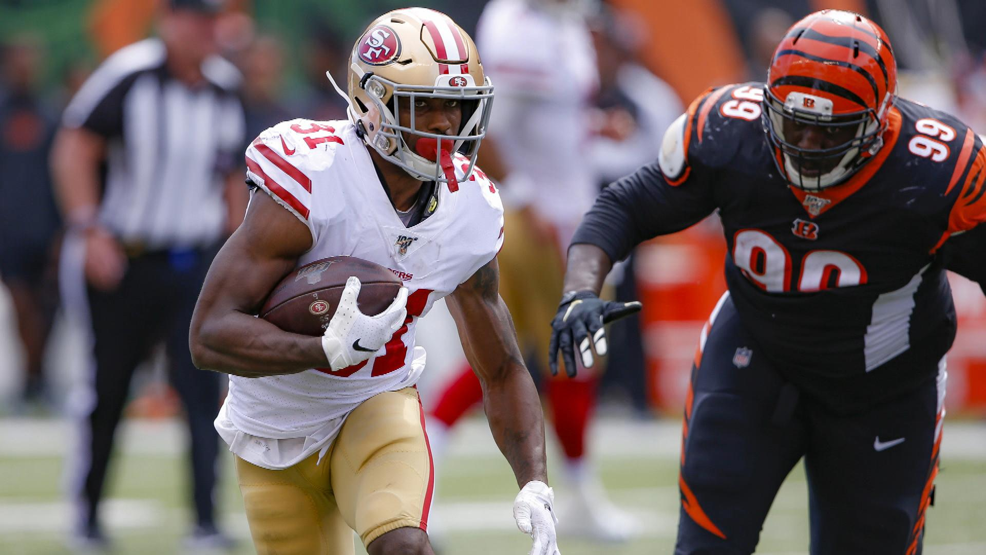 Waiver wire: Raheem Mostert separates in San Francisco 49ers'