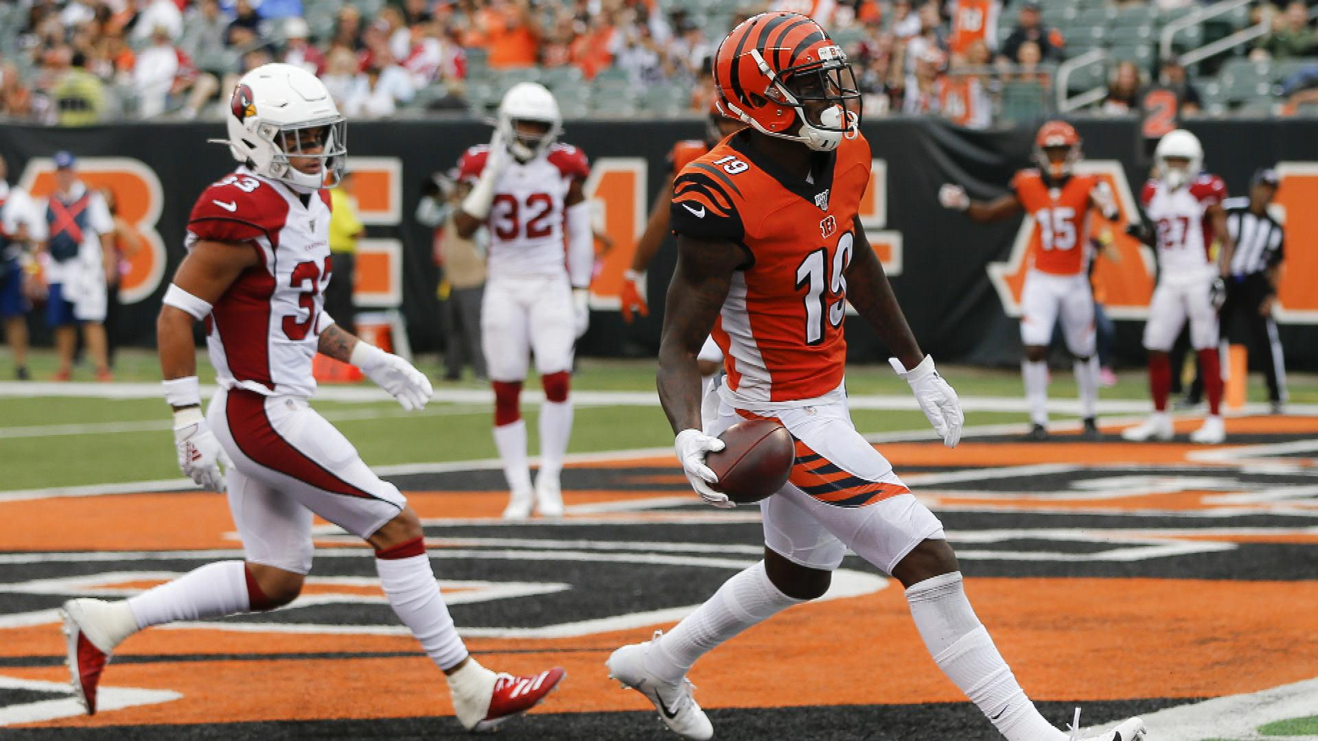 With John Ross out, is Bengals' Auden Tate a fantasy receiver to