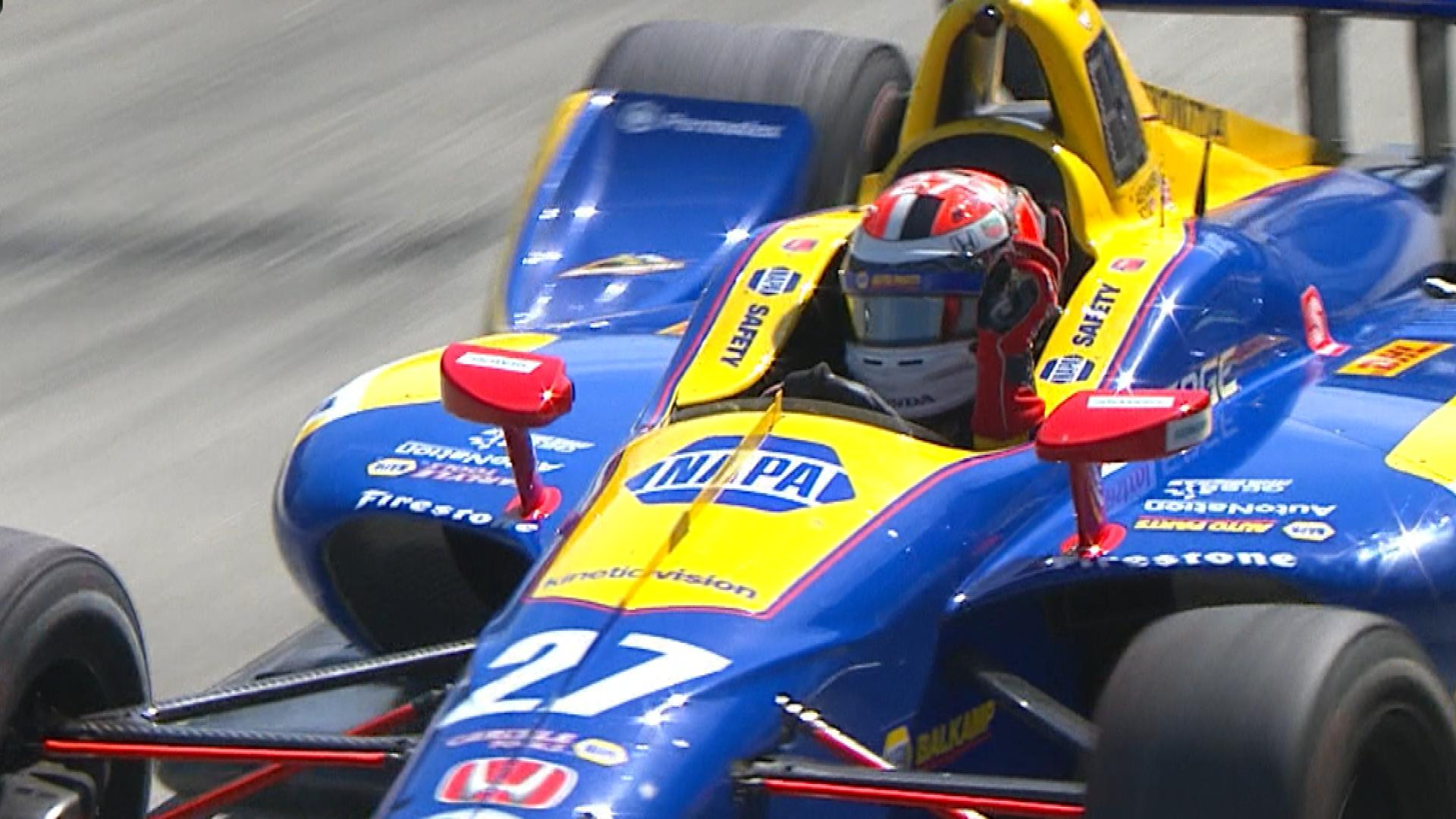 Alexander Rossi wins IndyCar Grand Prix of Long Beach