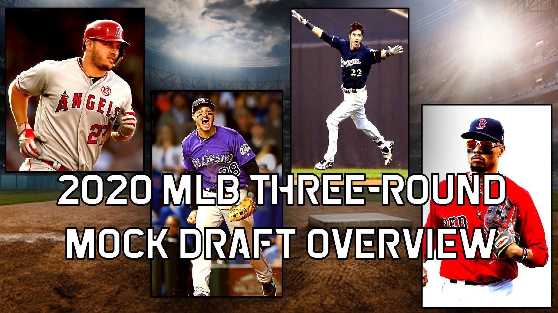 Rotoworld's early, three-round 2020 fantasy baseball mock draft