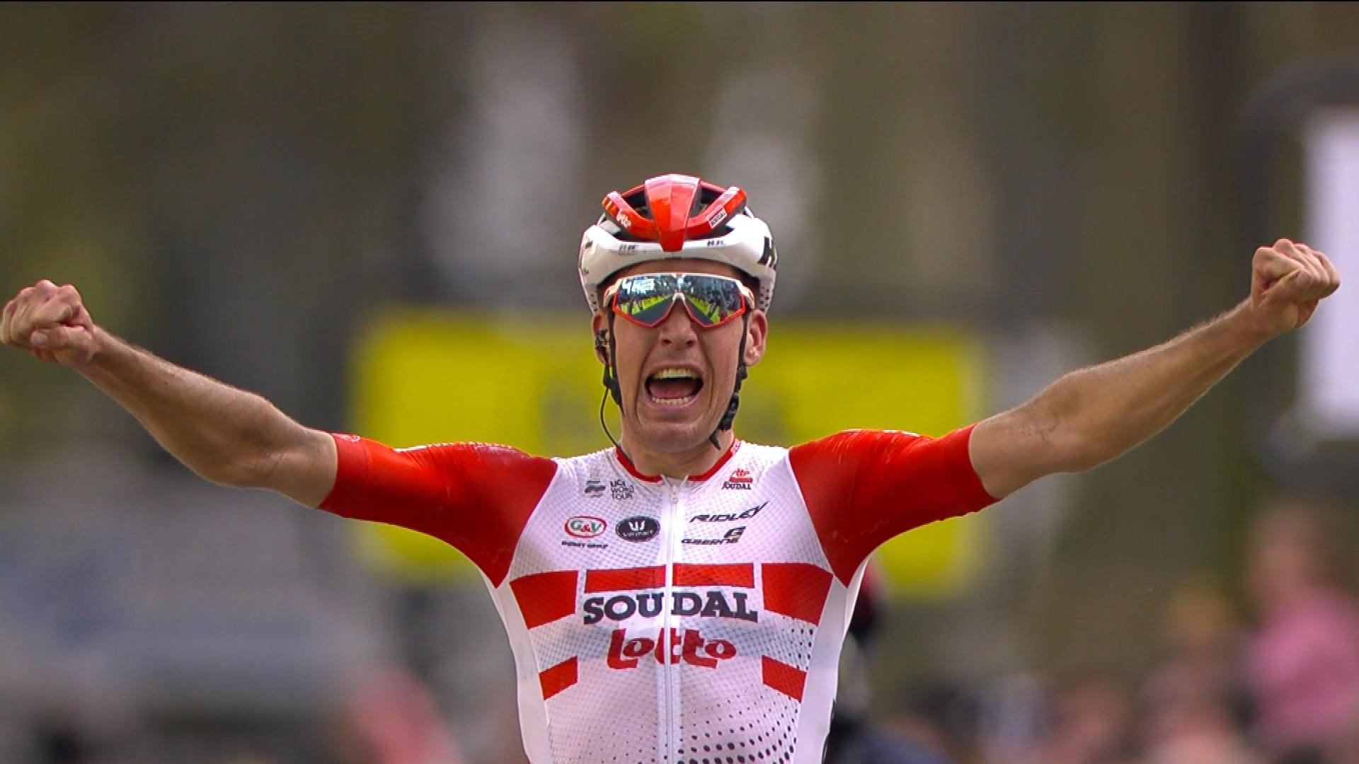 Jelle Wallays of Belgium wins Paris-Tours 2019 by 30-second margin