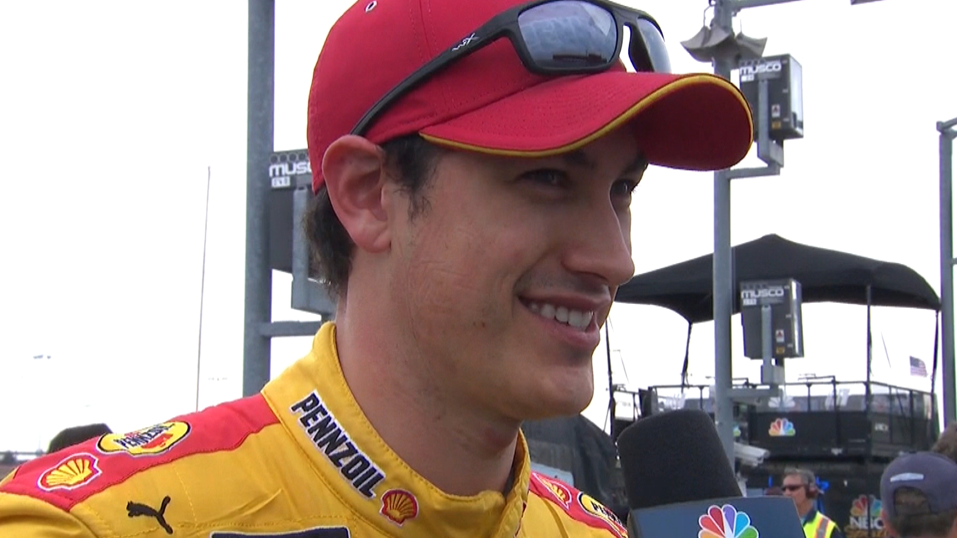 Joey Logano survives and advances to NASCAR Cup Series Playoffs Round