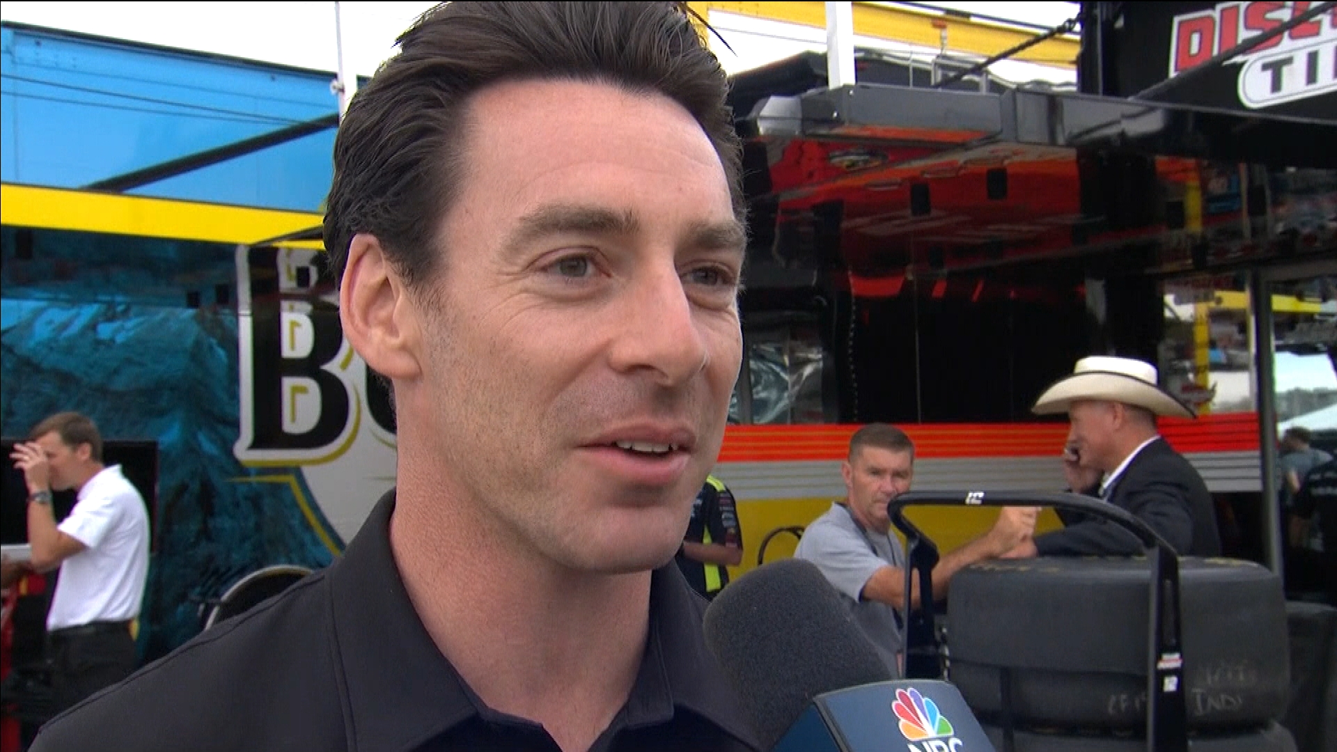 IndyCar's Simon Pagenaud takes in NASCAR Cup Series Brickyard 400 at