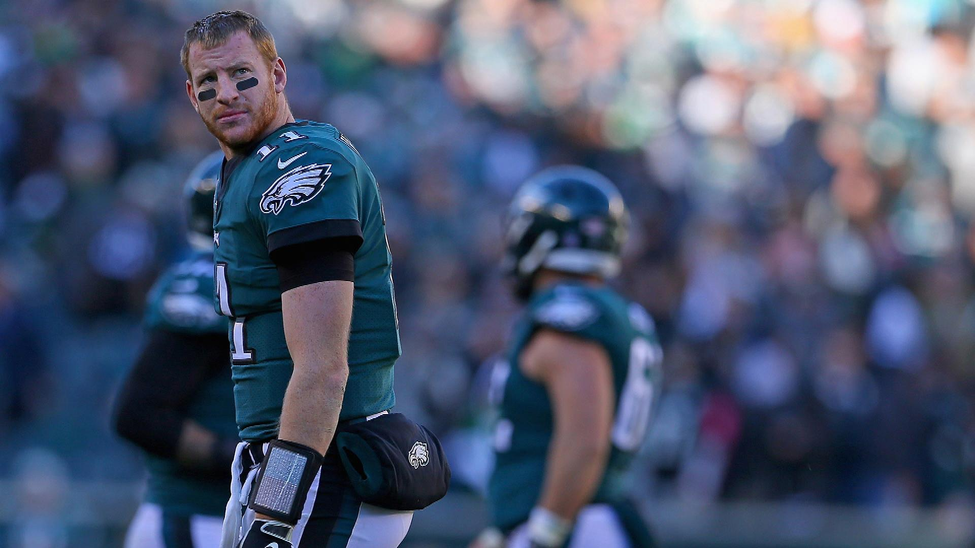 Giants' Burning Question: Can Carson Wentz stay healthy enough for