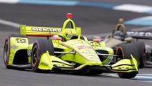 How Many Laps In Indy 500 >> Simon Pagenaud S Final Lap At Indianapolis 500 Qualifying Nbc Sports