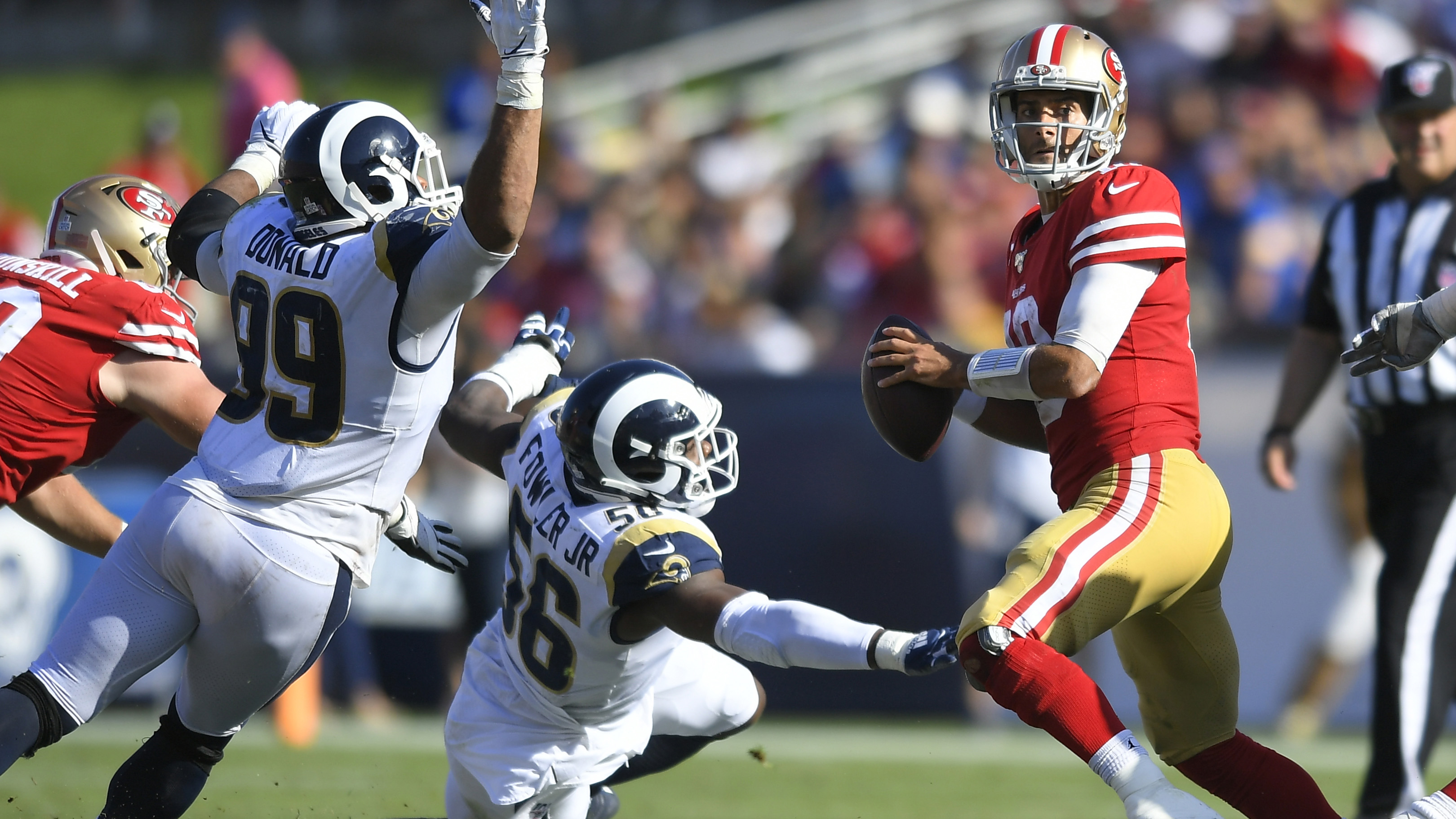 NFL Week 6 recap: 49ers stay unbeaten; Chiefs, Cowboys have issues