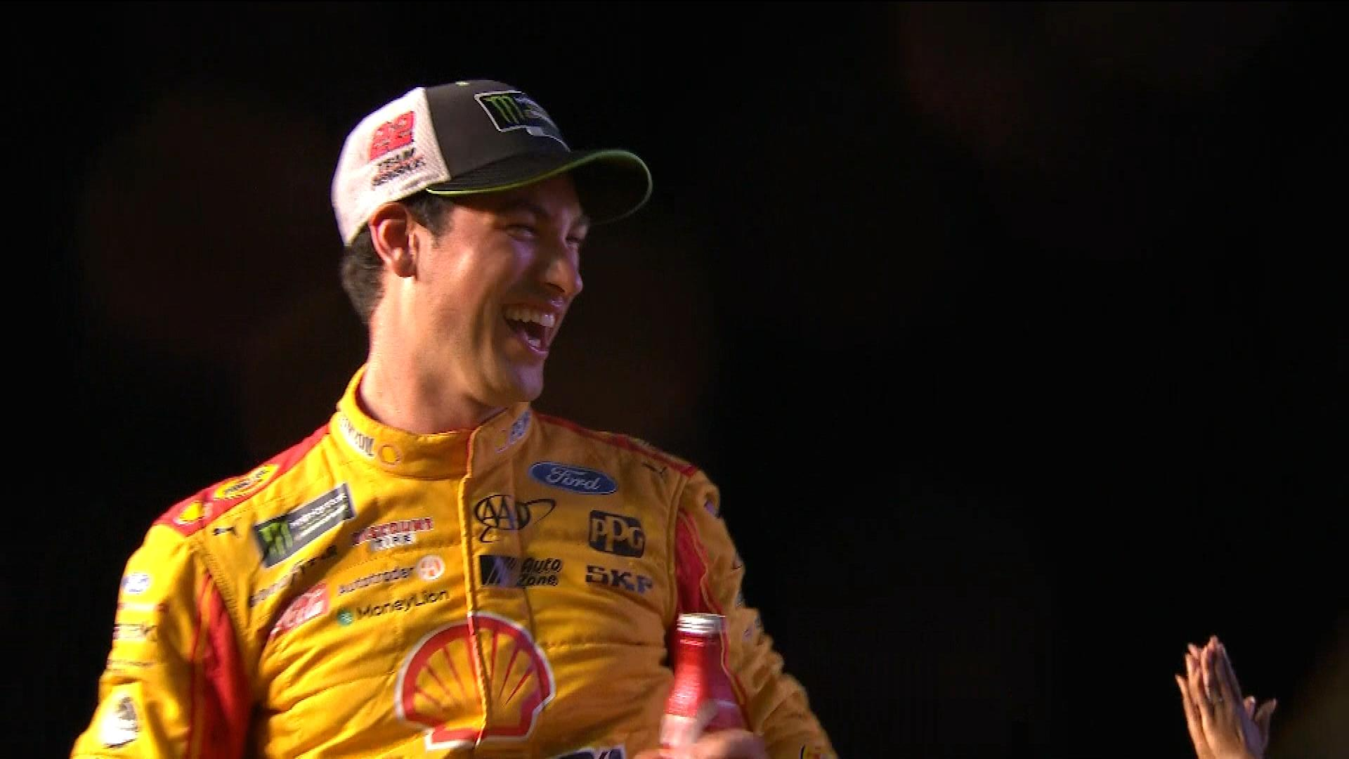 Joey Logano's NASCAR career changed with move to Team Penske