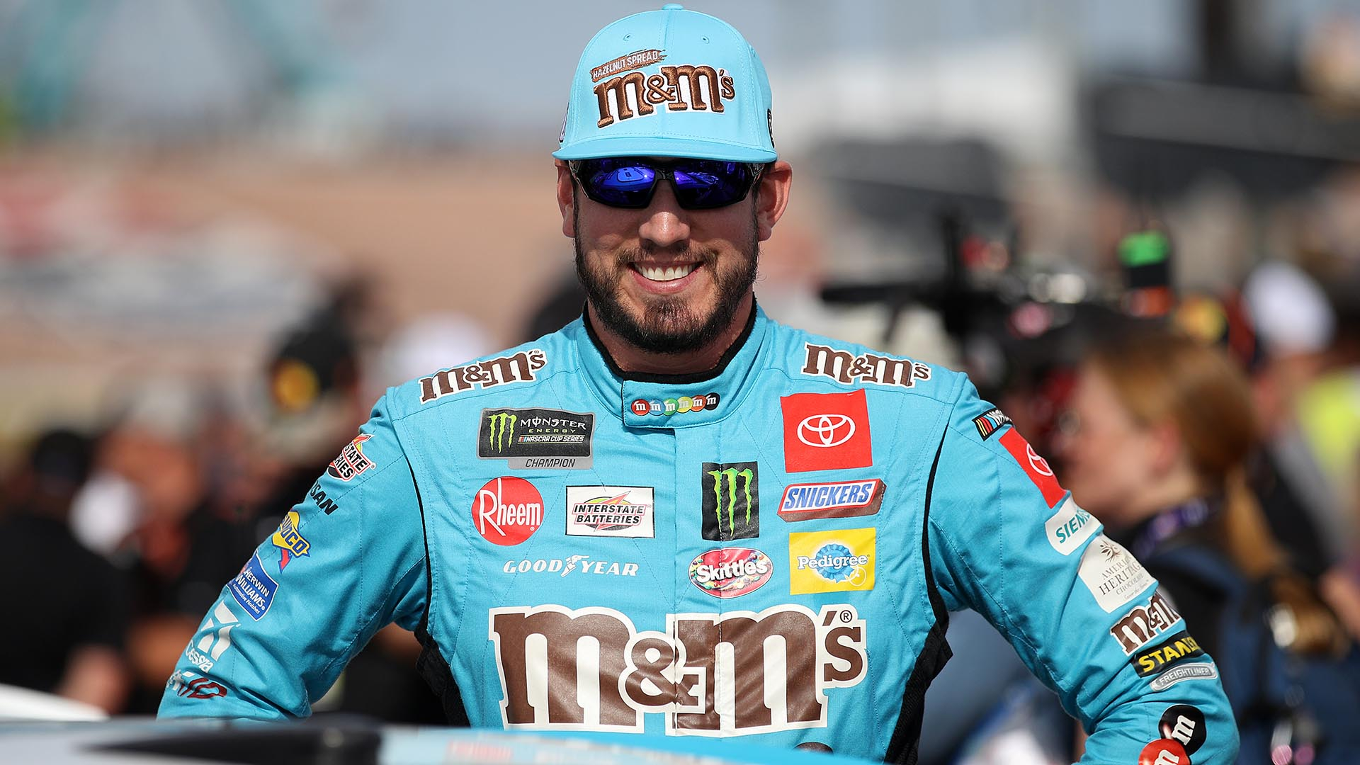 Is Kyle Busch right to be upset with Garrett Smithley for Vegas