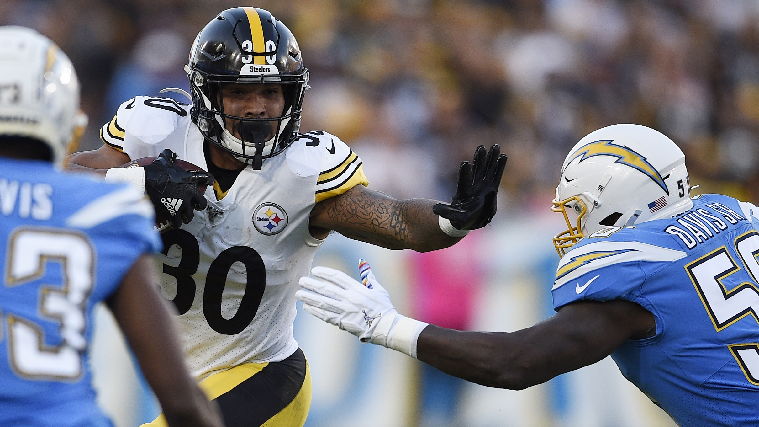 Highlights: Pittsburgh Steelers 24, Los Angeles Chargers 17