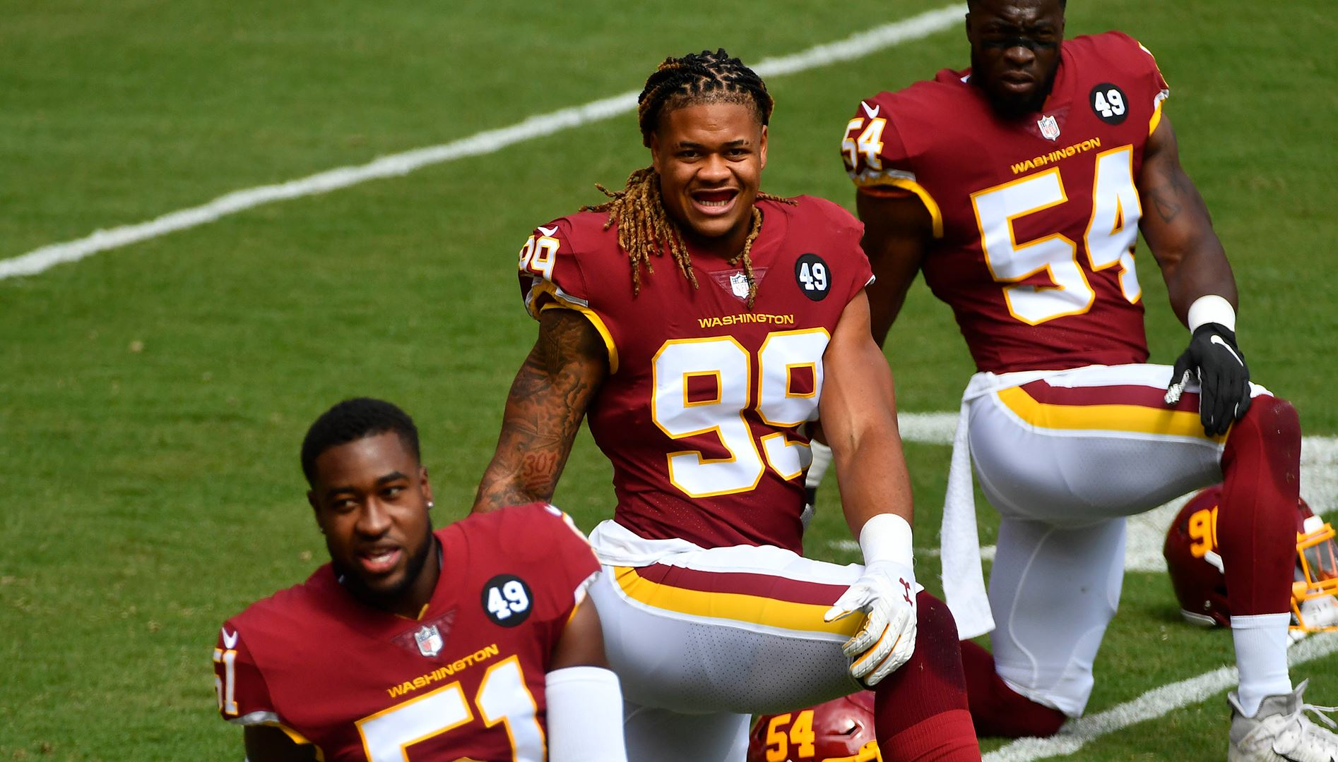 Pro Football Focus Confirms What Washington Fans Know Chase Young Is A Monster Nbc4 Washington