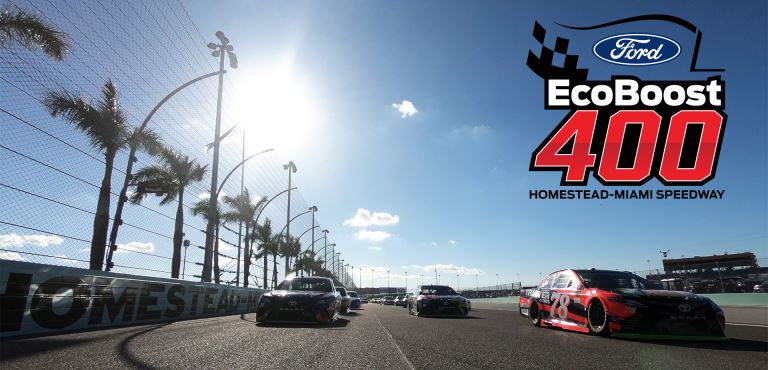 Watch Ford EcoBoost 400 at Homestead-Miami Speedway Live