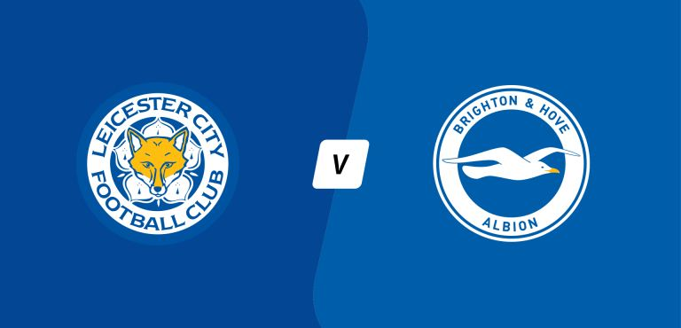 Watch Leicester City v. Brighton and Hove Albion Live