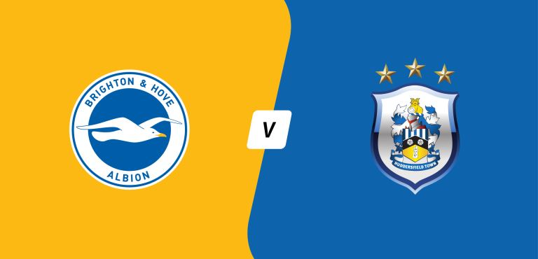 Watch Brighton and Hove Albion v. Huddersfield Town Live