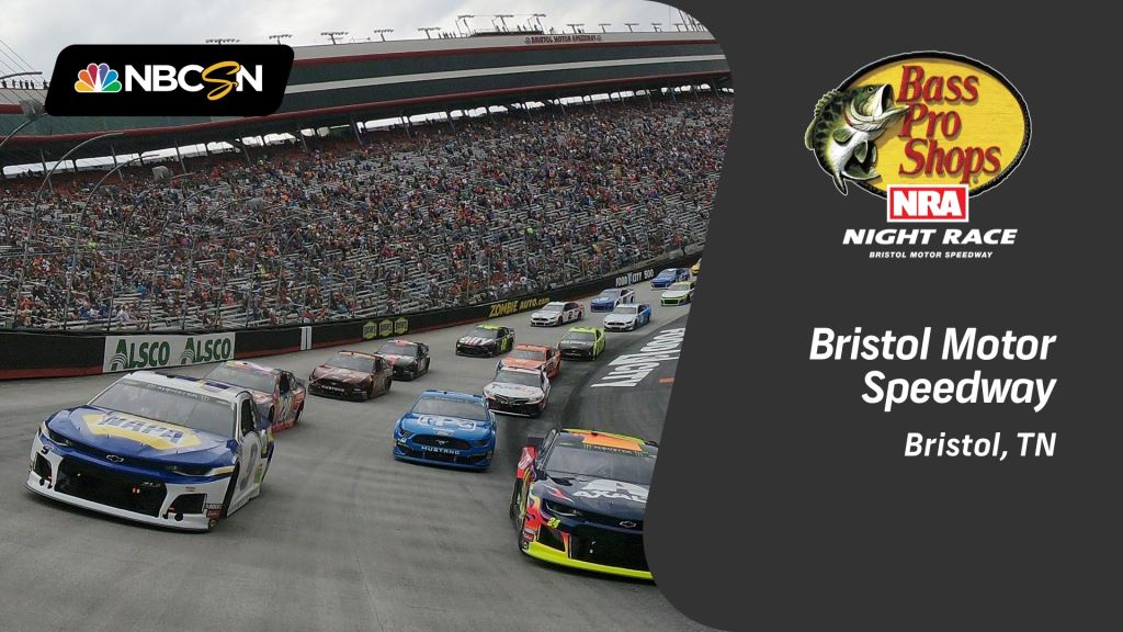 Nascar Live Stream Free >> Watch Bass Pro Shops Nra Night Race At Bristol Motor Speedway Live