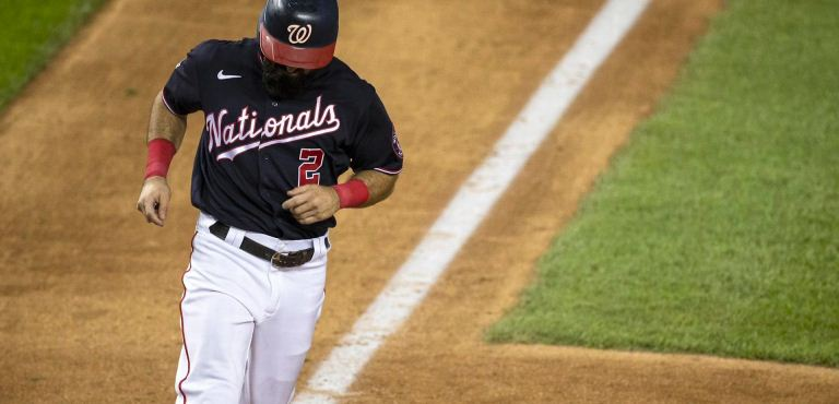 Adam Eaton Washington Nationals Spring Training Baseball Player Jersey