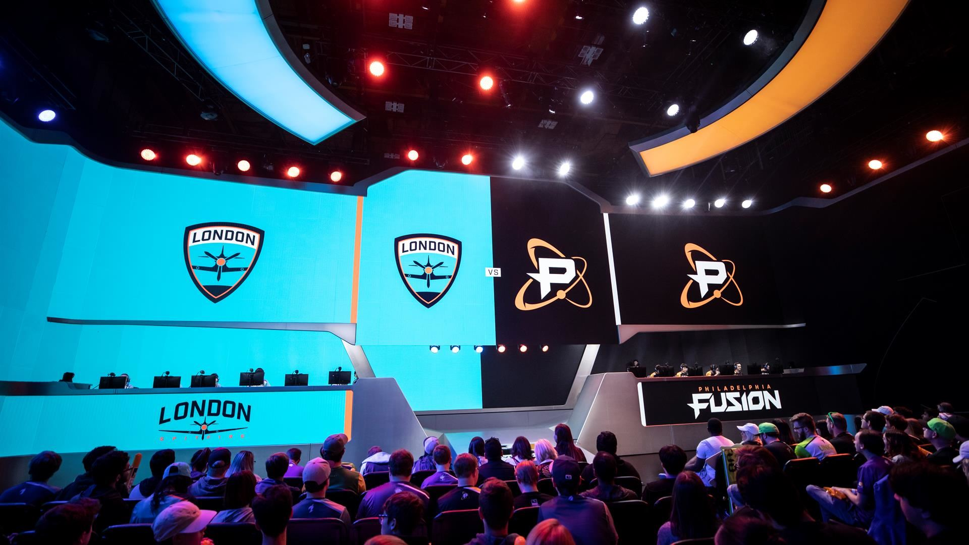 Philadelphia Fusion vs. London Spitfire - Week 2